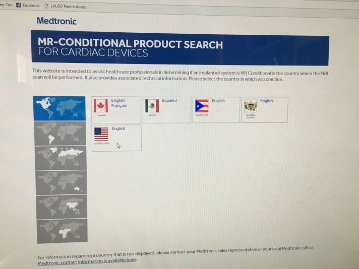 medtronic-search-screen